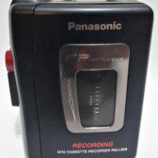 Radios antiguas: MINI GRABADORA DE CASSETTE - MINI CASSETTE RECORDER - PANASONIC RQ-L30. Lote 224930735