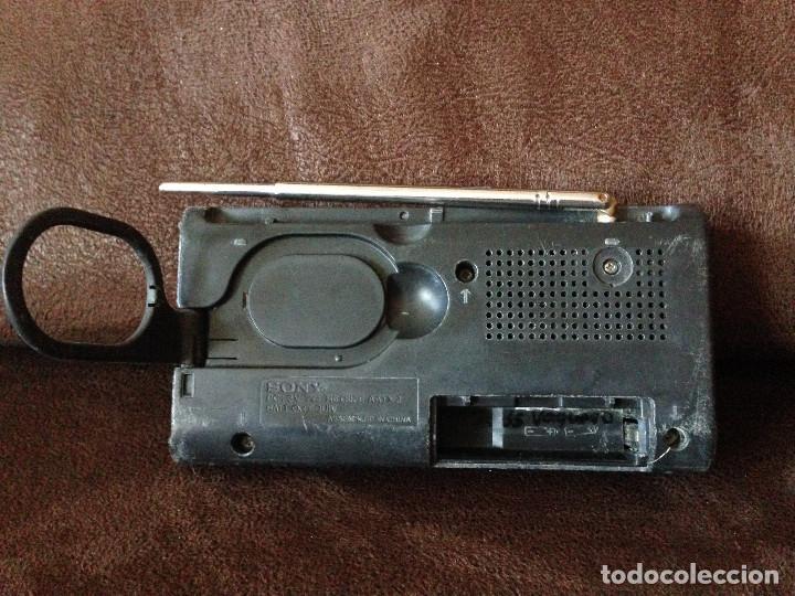 Radios antiguas: RADIO TRANSISTOR SONY CON AM/FM MODELO. ICF-380,-Funciona. - Foto 4 - 225184288