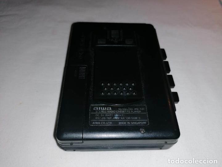 Radios antiguas: Walkman Aiwa Modelo HS-T20 - Foto 5 - 225908835