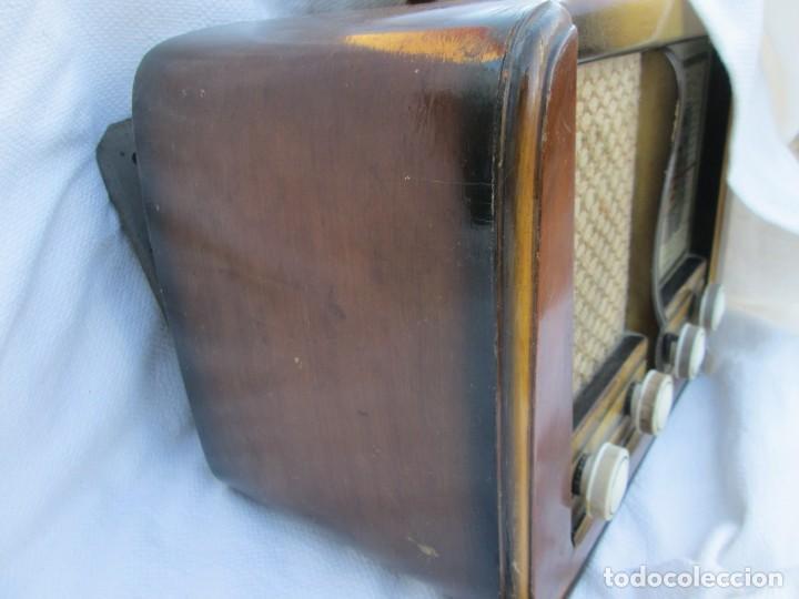Radios antiguas: Radio de válvulas. Caja de madera Ondina - Foto 5 - 226114030