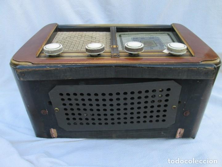 Radios antiguas: Radio de válvulas. Caja de madera Ondina - Foto 11 - 226114030