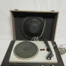 Radios antiguas: ANTIGUO TOCADISCOS ASPES. DE MALETA. AÑOS 70.PARA REPARAR O DESPIECE.. Lote 226269520