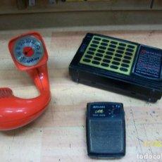 Radios antiguas: LOTE DE 3 RADIOR-INTEC-MIDLAND Y LEOTEC-A REVISAR. Lote 226310280