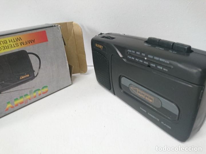 RADIO CASSETTE SUNNY (Radios, Gramófonos, Grabadoras y Otros - Transistores, Pick-ups y Otros)