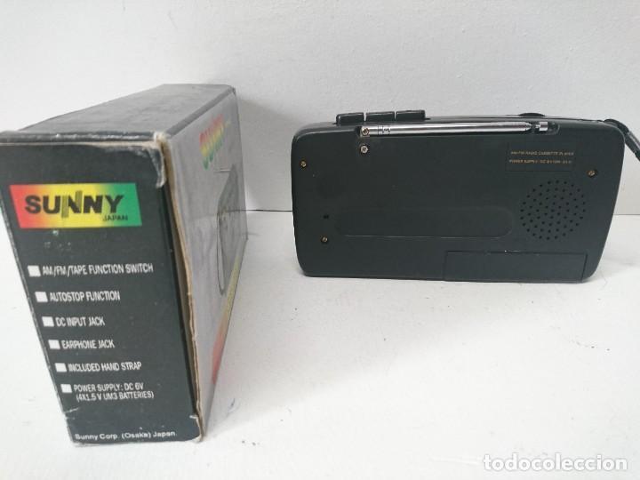 Radios antiguas: Radio cassette Sunny - Foto 2 - 262433990