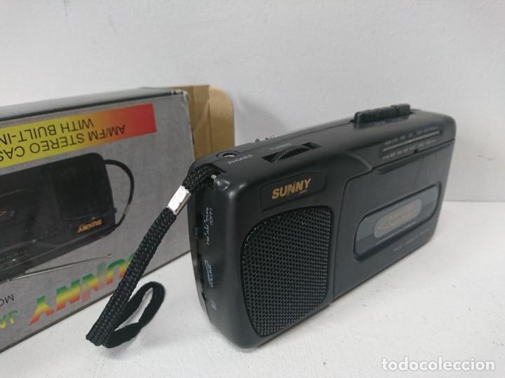 Radios antiguas: Radio cassette Sunny - Foto 3 - 262433990