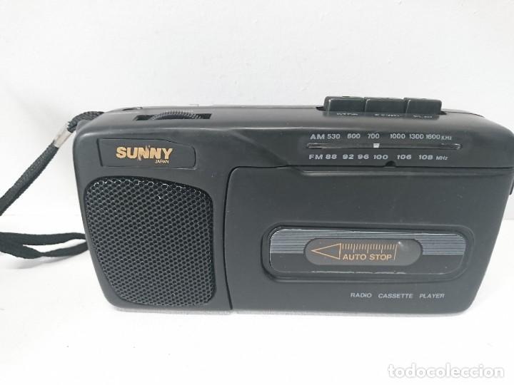 Radios antiguas: Radio cassette Sunny - Foto 4 - 262433990