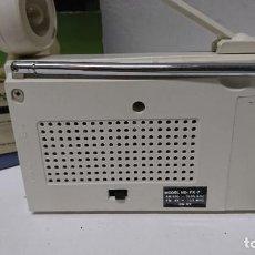 Radios antiguas: RADIO TRANSISTOR CON LINTERNA INTERNATIONAL. Lote 226841285