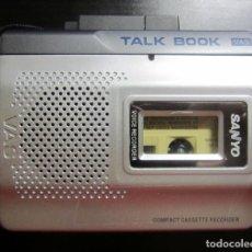Radios antiguas: WALKMAN SANYO TRC-1160 VOICE RECORDER COMPACT CASSETTE RECORDER FUNCIONANDO. Lote 227076404