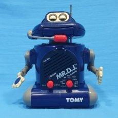 Radios antiguas: RADIO ROBOT - MR.D.J. - TOMY - HONG KONG. Lote 227150840
