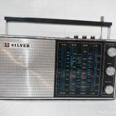 Radios antiguas: RADIO TRANSISTOR SILVER. Lote 227757614