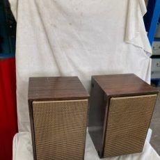 Radios antiguas: PAREJA DE ALTAVOCES INTER,DE GRAMOFONO!. Lote 228048880