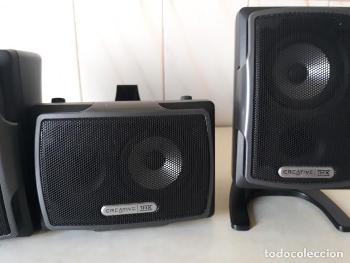 Radios antiguas: Altavoces Creative 4 unidades - Foto 3 - 228148590