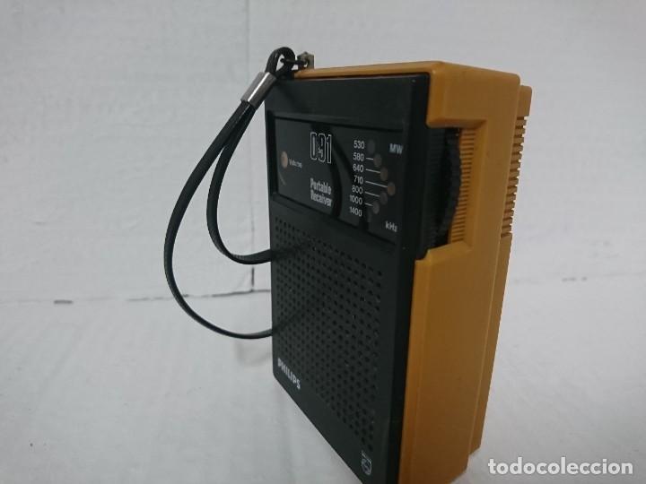 Radios antiguas: Radio transistor Philips 091 - Foto 4 - 228493650