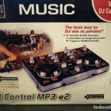 Radios antiguas: MESA DE MEZCLAS HÉRCULES DJ CONTROL MP3 E2. Lote 228813500