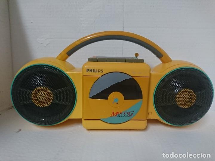 RADIO CASSETTE PHILIPS (Radios, Gramófonos, Grabadoras y Otros - Transistores, Pick-ups y Otros)