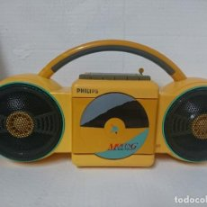 Radios antiguas: RADIO CASSETTE PHILIPS. Lote 261654765