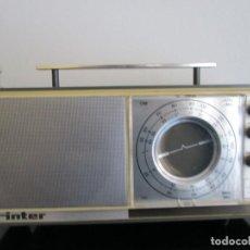 Radios antiguas: RADIO INTER AM - FUNCIONAVA PERO PERDI EL CABLE DE LA RED. Lote 229327625