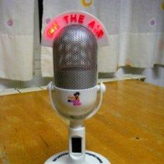 Radios antiguas: RADIO AM-FM FORMA DE MICRÓFÓNO ON THE AIR ILUMINADO. Lote 229907950