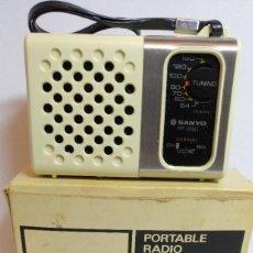 Radios antiguas: ANTIGUO TRANSISTOR SANYO NUEVO REF:RP1250 NUEVO. Lote 230090115