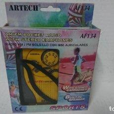Radios antiguas: RADIO TRANSISTOR ARTECH AF134. Lote 230673710