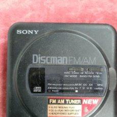 Rádios antigos: SONY DISCMAN D-T20 FM/AM COMPACT DISC CD COMPACT PLAYER AÑOS 80. Lote 231347640