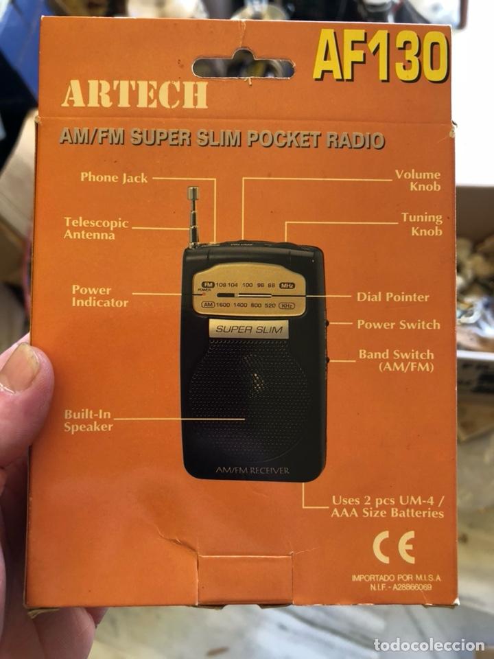 Radios antiguas: Radio artech en su caja - Foto 2 - 231757925