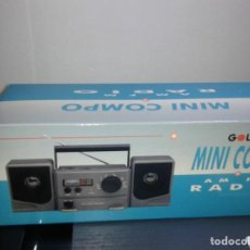 Radios antiguas: MINI RADIO COMPO PORTATIL FM/AM - GOLD SONIC (FUNCIONA A PILAS). Lote 279590143