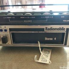 Rádios antigos: RADIO DE COCHE ANTIGUA RADIOMOBILE 4 STEREO. Lote 233916730