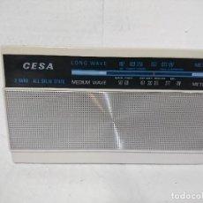 Radios antiguas: RADIO TRANSISTOR CESA. Lote 234530120
