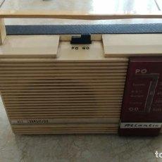 Radios antiguas: RADIO TRANSISTOR ATLANTIC. Lote 234816645