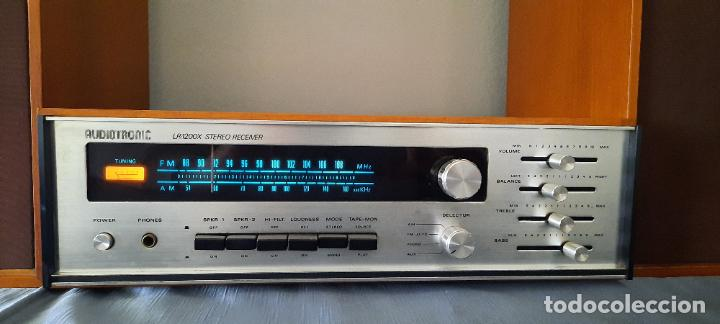 Radios antiguas: HIFI AUDIOTRONIC LR1200X - VINTAGE + ALTAVOCES WHARFEDALE INCLUIDOS - VER VIDEO - Foto 2 - 234914205