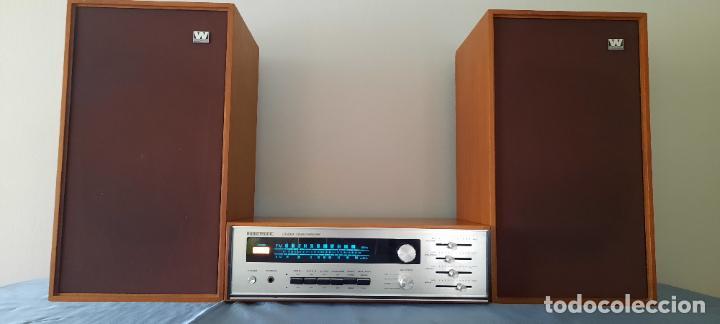 Radios antiguas: HIFI AUDIOTRONIC LR1200X - VINTAGE + ALTAVOCES WHARFEDALE INCLUIDOS - VER VIDEO - Foto 5 - 234914205