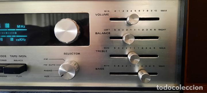 Radios antiguas: HIFI AUDIOTRONIC LR1200X - VINTAGE + ALTAVOCES WHARFEDALE INCLUIDOS - VER VIDEO - Foto 10 - 234914205
