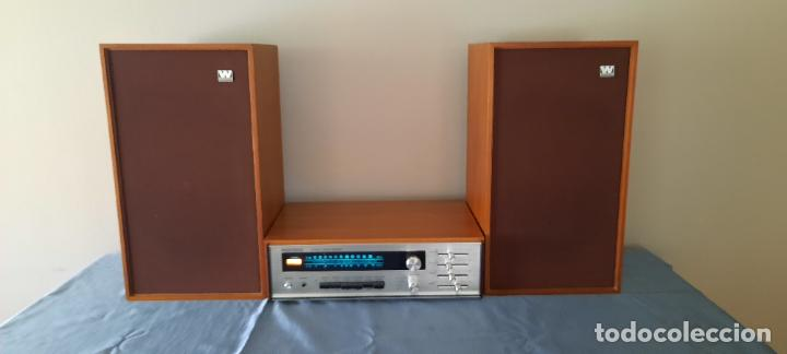 HIFI AUDIOTRONIC LR1200X - VINTAGE + ALTAVOCES WHARFEDALE INCLUIDOS - VER VIDEO (Radios, Gramófonos, Grabadoras y Otros - Transistores, Pick-ups y Otros)