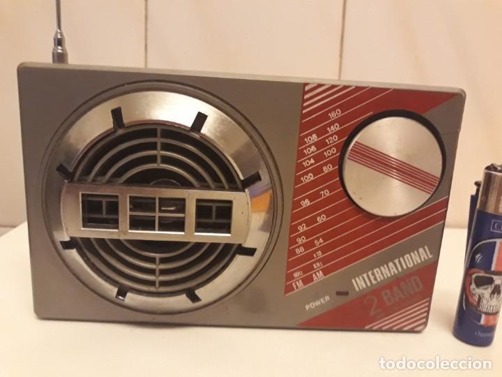 Radios antiguas: Transistor Internacional Funcionando - Foto 2 - 234914790