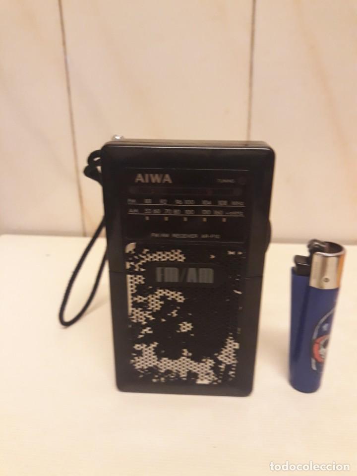 TRANSISTOR AIWA FUNCIONANDO (Radios, Gramófonos, Grabadoras y Otros - Transistores, Pick-ups y Otros)