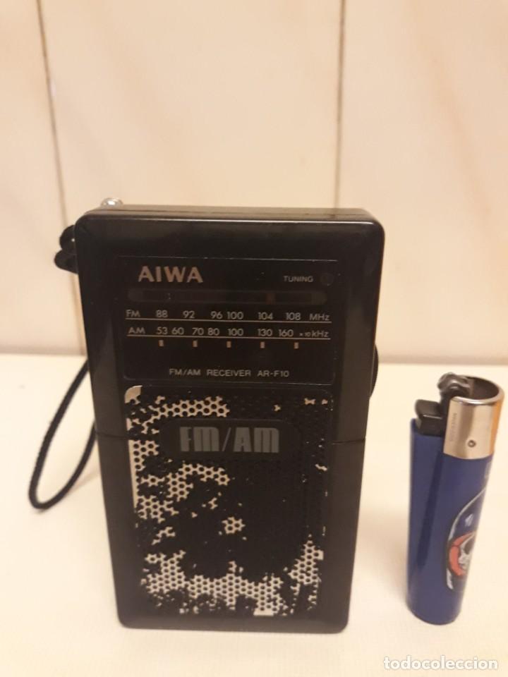 Radios antiguas: Transistor AIWA funcionando - Foto 2 - 234916960