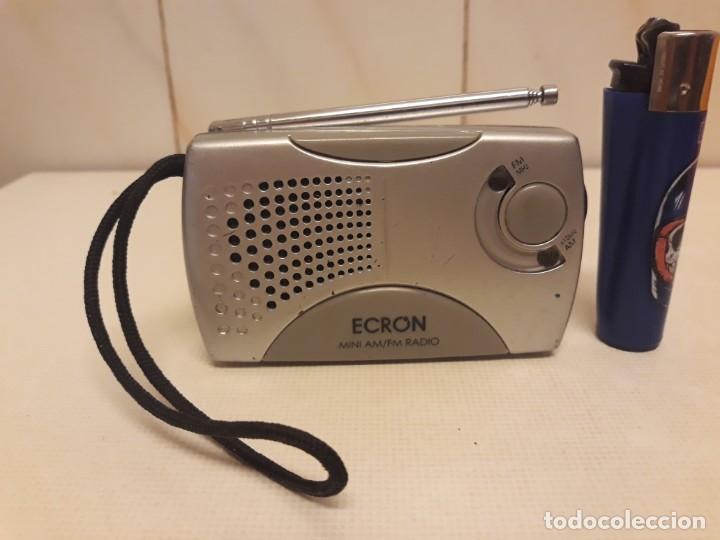TRANSISTOR ECRON FUNCIONANDO (Radios, Gramófonos, Grabadoras y Otros - Transistores, Pick-ups y Otros)