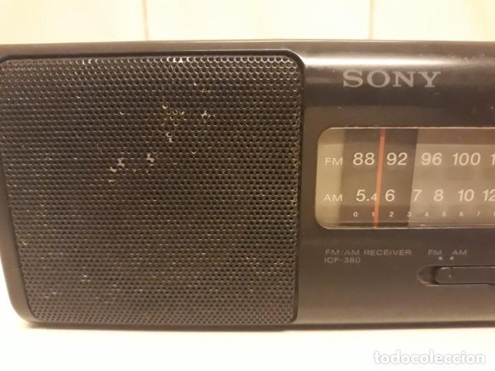 Radios antiguas: Transistores SONY 2 unidades - Foto 2 - 234919735