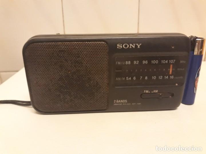 Radios antiguas: Transistores SONY 2 unidades - Foto 5 - 234919735