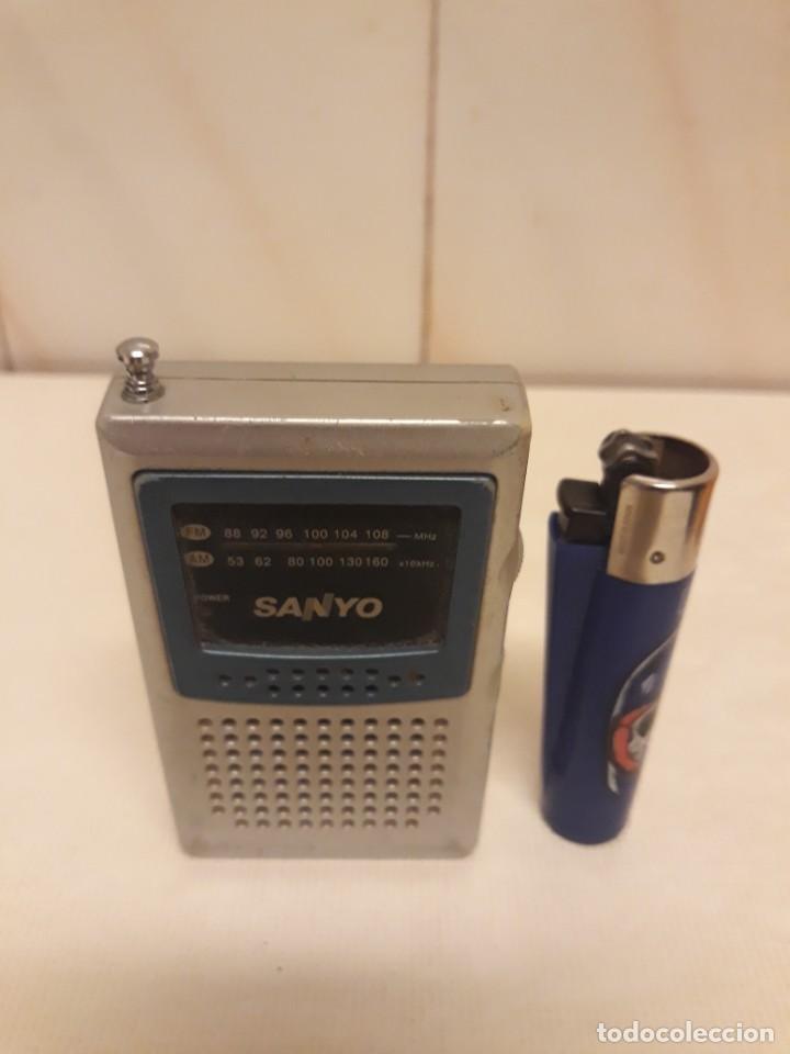 TRANSISTOR SANYO MINI (Radios, Gramófonos, Grabadoras y Otros - Transistores, Pick-ups y Otros)