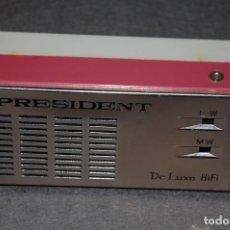 Radios antiguas: TRANSISTOR PRESIDENT DE LUXE HIFI AÑOS 60. Lote 234977955