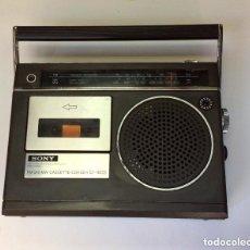 Radios antiguas: RADIO-CASSTTE VINTAGE SONY PORTÁTIL MODEL CF160S. Lote 235336395