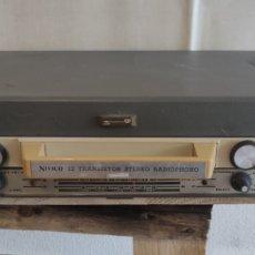 Radios antiguas: RADIO CON TOCADISCOS NIVICO JVC. RADIO ANTIGUA. MÚSICA. APARATO ANTIGUO.. Lote 235477210