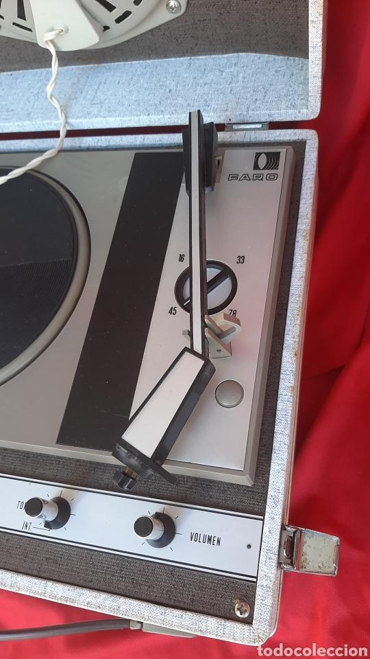 Radios antiguas: antiguo tocadisco faro ano 70 - Foto 5 - 235523055
