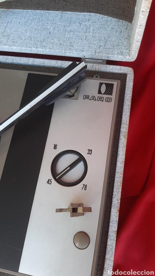 Radios antiguas: antiguo tocadisco faro ano 70 - Foto 6 - 235523055