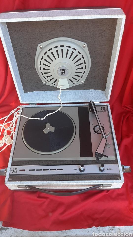 ANTIGUO TOCADISCO FARO ANO 70 (Radios, Gramófonos, Grabadoras y Otros - Transistores, Pick-ups y Otros)