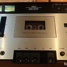 Radios antiguas: AKAI CS-34D HIFI STEREO CASSETTE DECK VINTAGE BUEN ESTADO. Lote 235601600