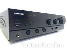 PIONEER A-333 STEREO INTEGRATED AMPLIFIER 2X 40 WATTS RMS VINTAGE 1988 PEPETO ELECTRONICA (Radios, Gramófonos, Grabadoras y Otros - Transistores, Pick-ups y Otros)
